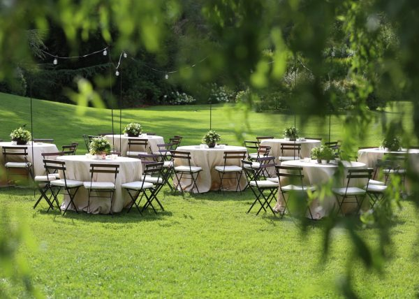 matrimonio sotto le stelle a villa oltre il giardino