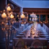 Allestimento tavolo imperiale Matrimonio a Roma