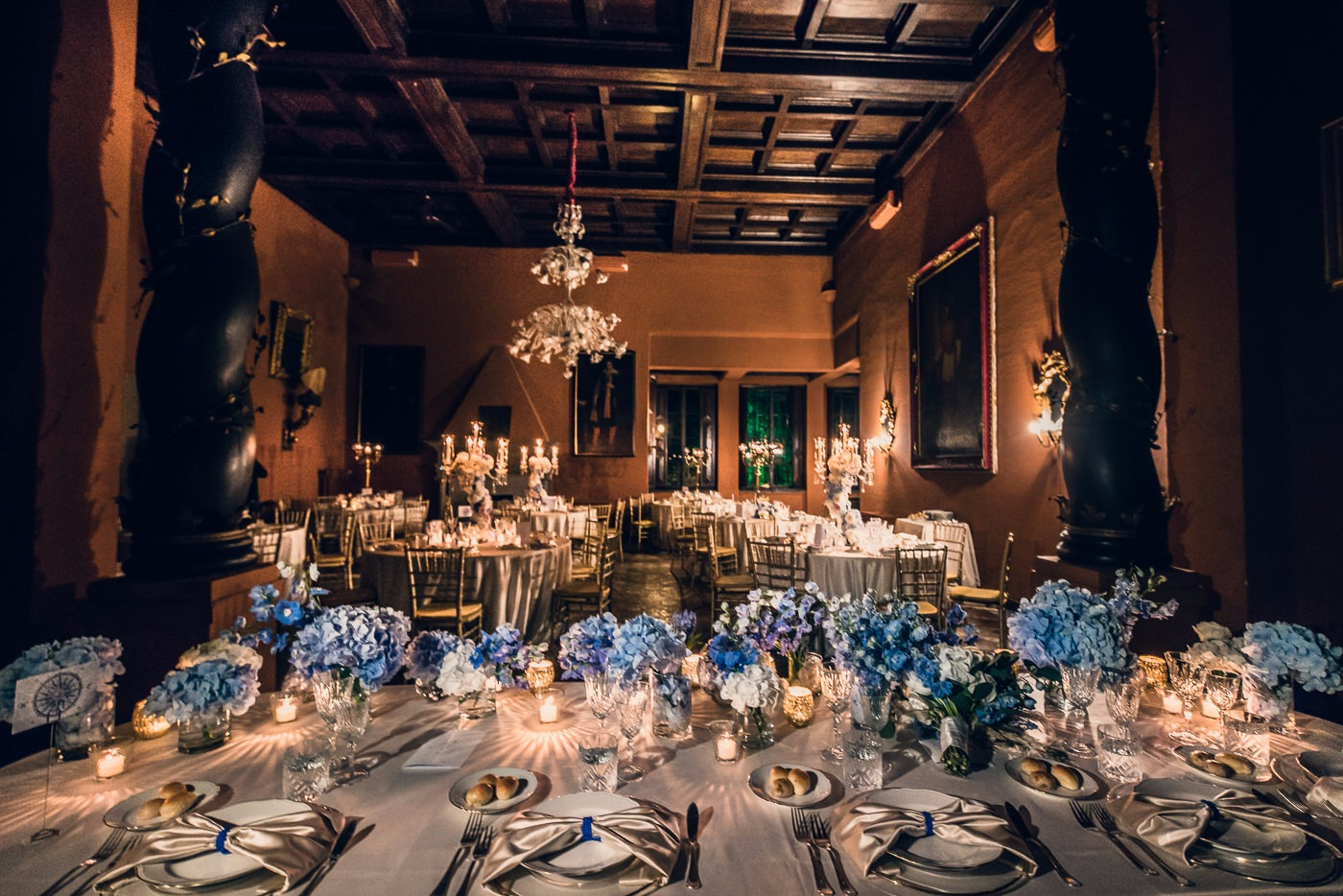 wedding reception in Rome